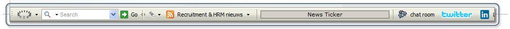 Wil je graag snel toegang hebben tot al het HRM en Recruitment nieuws? Of via diverse social media discussiëren over actuele onderwerpen? IPRC en Recruiting Roundtable lanceren een Recruiting Roundtable Community Toolbar die je kunt installeren in Firefox, Internet Explorer of een Safari webbrowser. De Nederlandse toolbar bevat momenteel de […]