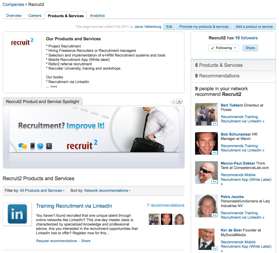 Have you claimed your LinkedIn Company Page yet? It's an easy way for job seekers to be informed about the latest news and developments within your company and, moreover, when you post vacancies they are the first to know about it. Below is a roadmap to do this. But before […]
