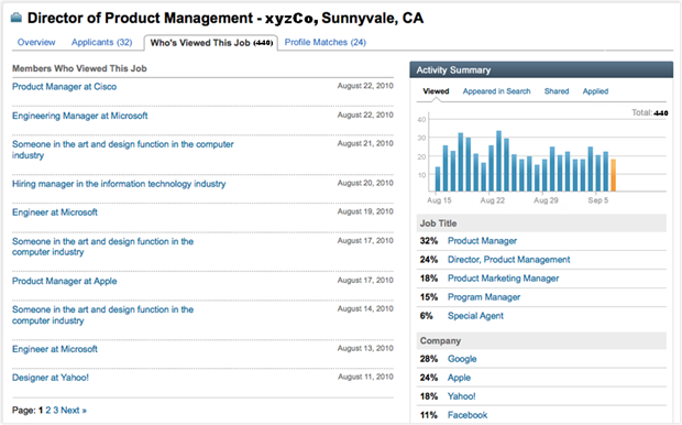 If you are an user of the professional LinkedIn Recruiter solutions you'll notice some improvements when posting jobs. I like thefact that it's now easier to post jobs with a new one-page flow including rich-text formatting. Next step is sharing them to your LinkedIn, Facebook and Twitter networks, LinkedIn Groups, […]