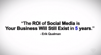 """It's back again! Here's the 4th version of the world's most watched social media video series """"Social Media Revolution"""". This version uses new energetic music. Social Media Video 2013: Social Media Revolution 4 was written by international best selling author and keynote speaker Erik Qualman. This version contains the Fatboy […]"""